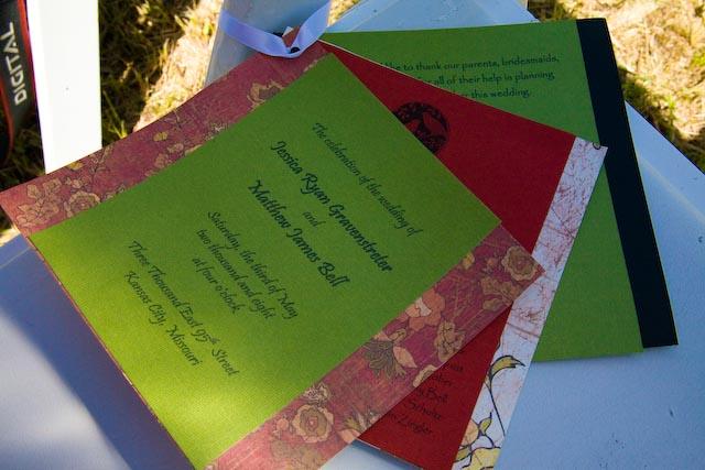 Bell Wedding Invites