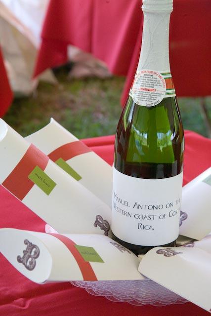 Bell Wedding Wine