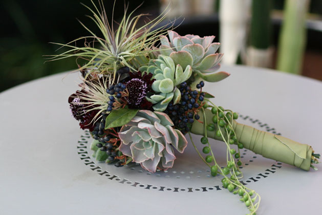 Succulent Wedding Bouquets Make