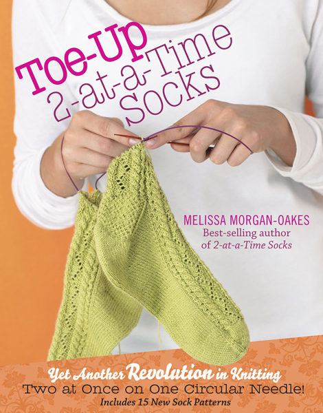 Revolutionary Knitting Circle : Book review giveaway toe up at a time socks make
