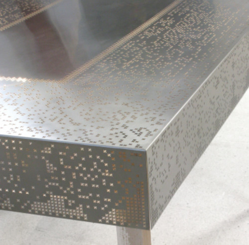 Laser Cut Stainless Steel Quot Lace Quot Table Covering Make