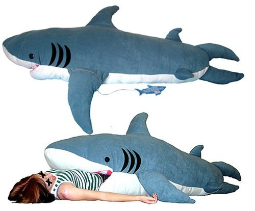 Shark Toys For Adults : Chumbuddy shark sleeping bag make