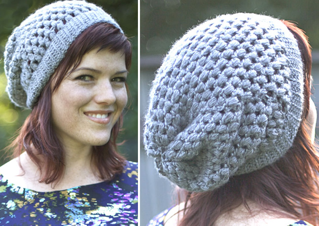 Urban Jungle Crocheted Slouchy Beanie From Vickie Howell Make