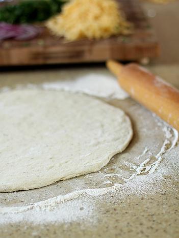 Bbq Pizza Crust