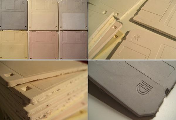 Archive 2010 03 30 Floppy Disk Ceramic Tiles
