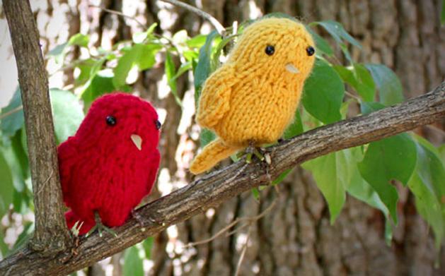 little birds knitting pattern make