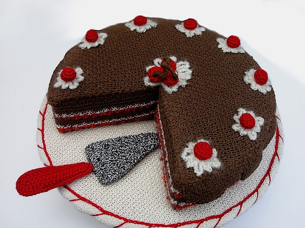 Image result for pictures of knitted cakes