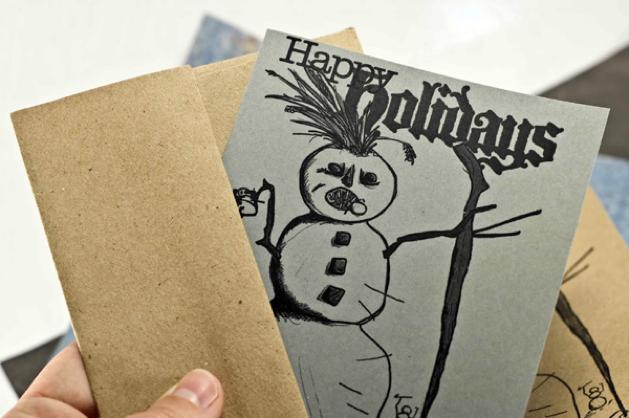 Craftleftovers Holidaycard