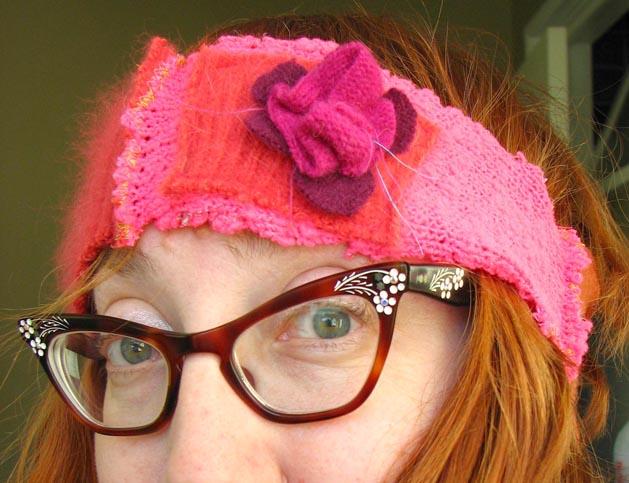 Felted Headband Step12B