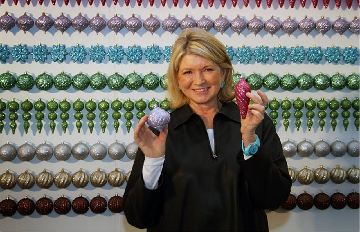 Martha stewart holiday craft sale make for Martha stewart xmas crafts