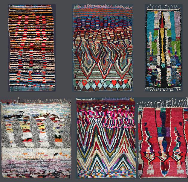Moroccan Boucherouite Rugs