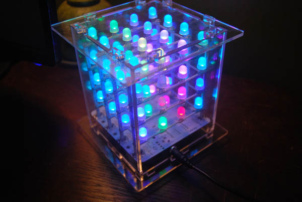 laser cut plexi case for led cubes make diy projects how tos electronics crafts and ideas. Black Bedroom Furniture Sets. Home Design Ideas