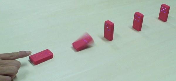 Wireless Dominoes