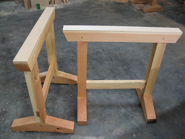 How To Build Japanese Sawhorses Make