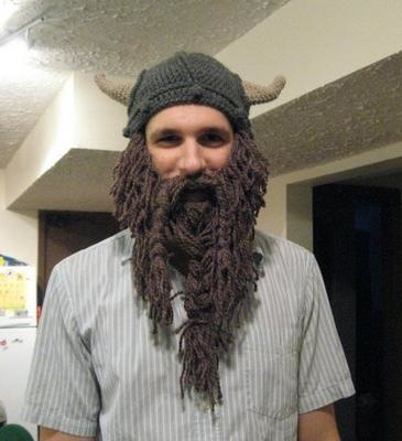 Crochet Viking Hat and Beard Make: