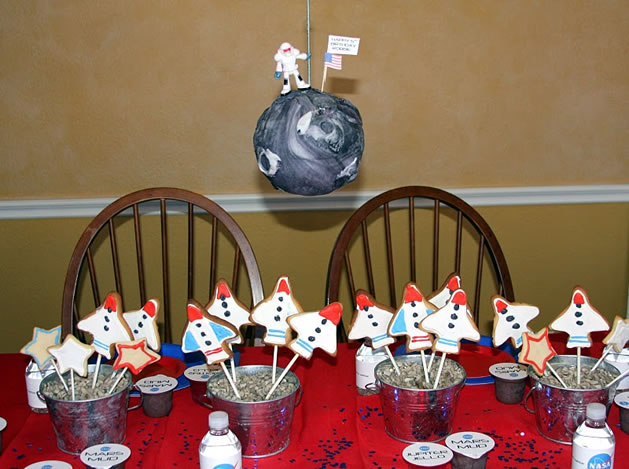 Awesome Astronaut Training Birthday Party | Make: