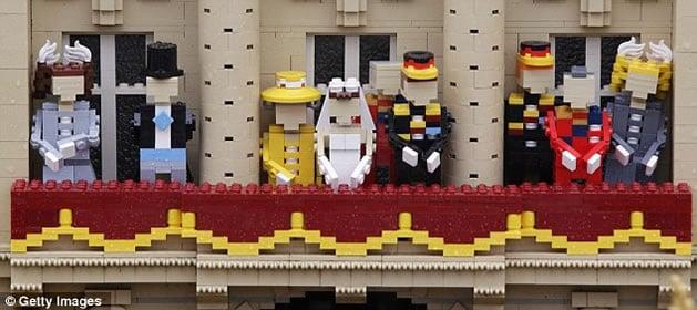 Royal Wedding in Lego | Make: