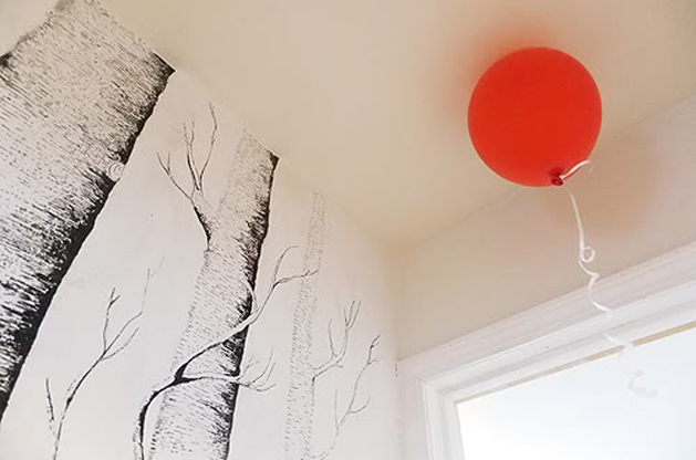 DIY Forest Wallpaper  Make