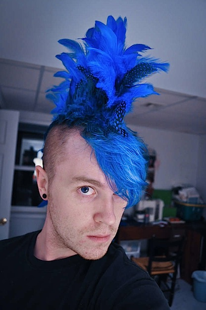 How To Sew A Feather Mowhawk Make