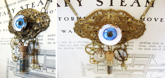 How to easy glass eyeballs for steampunk projects make for Easy steampunk ideas