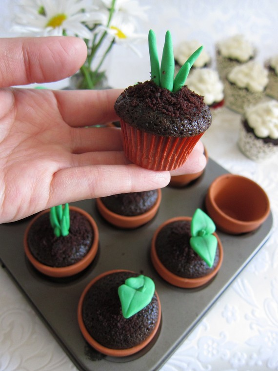 Sweet Sprouts Cupcake Topper Make