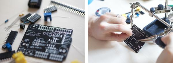 Assembling The Video Experimenter Shield