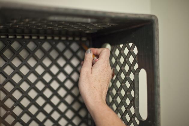 How To Sturdy Milk Crate Storage Make