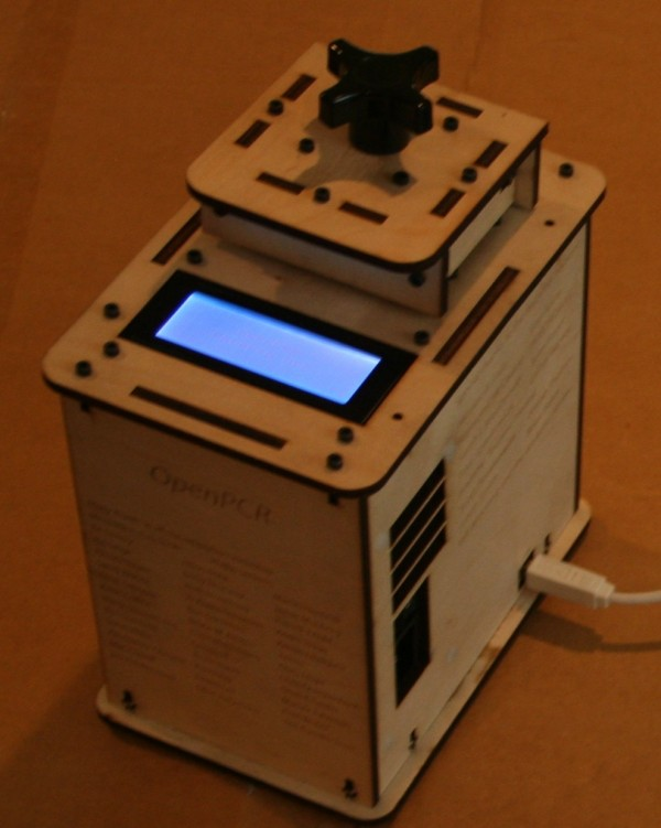 OpenPCR solo PCR machine thermal cycler
