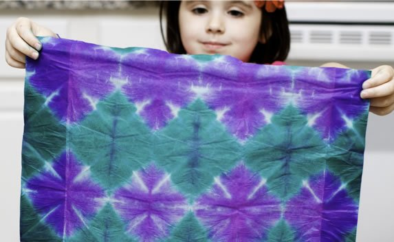 how to tissue paper tie dye make. Black Bedroom Furniture Sets. Home Design Ideas