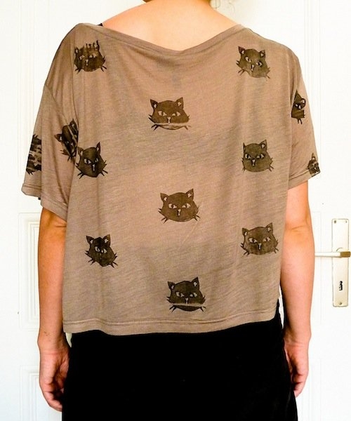 How to print your own kitty shirt make for How to print your own shirt