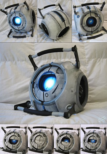 Awesome Home Library: Awesome Portal 2 Wheatley Puppet