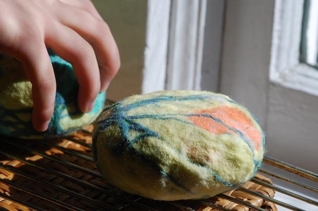 how to make felted soap make. Black Bedroom Furniture Sets. Home Design Ideas
