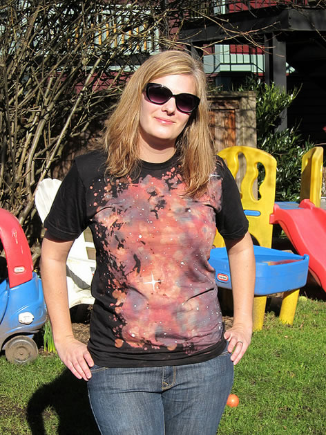 How-To: Nebula T-Shirt | Make: