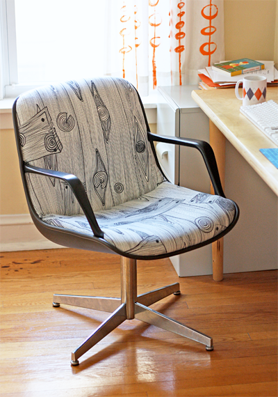 Reupholstering An Office Chair Diy Reupholster Howto Recover Steelcase Chair Make Magazine Howto Recover Steelcase Chair Make