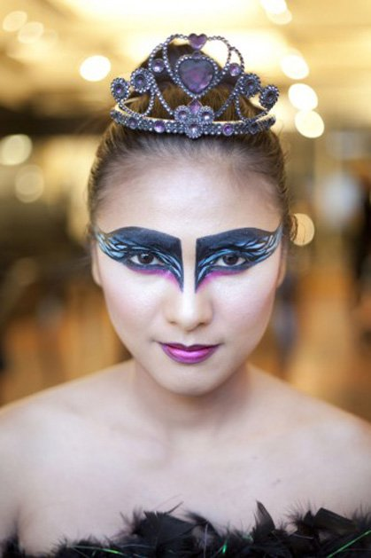 Diy Halloween Costumes Black Swan Black Swan Halloween Make-up