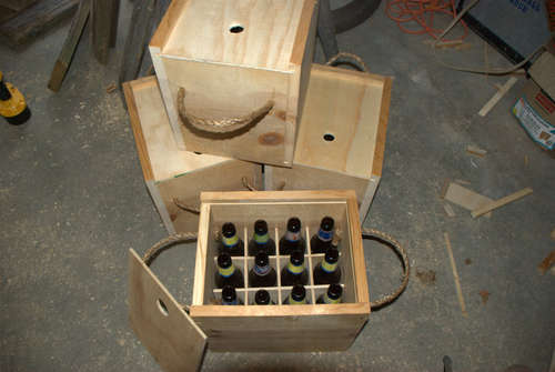 How To Wooden Beer Bottle Crate Make