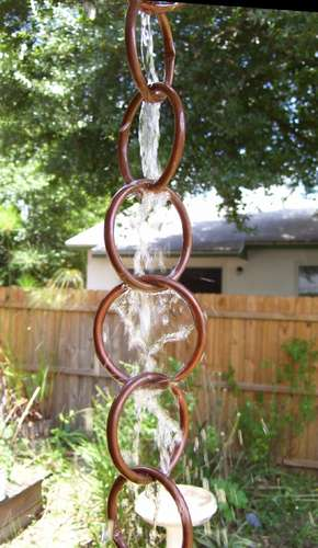 Copper Rain Chain Make