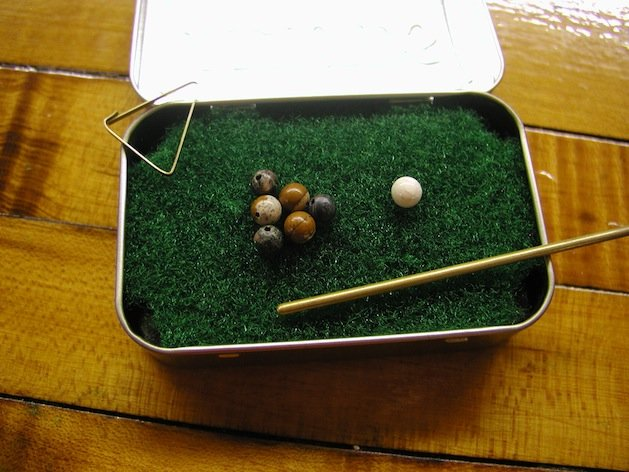 mini pool table plans 2