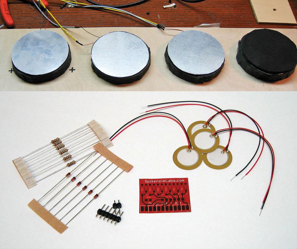 Drum kit make