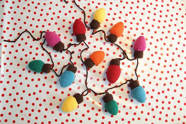 Crochet Christmas Light Pattern Make: