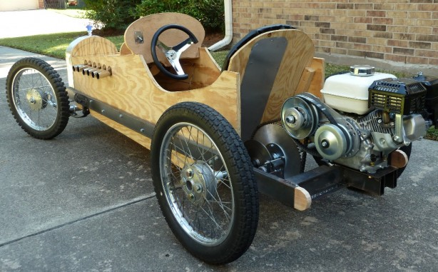 Sweet Cyclekart Works as a Go-Kart for Adults | Make: