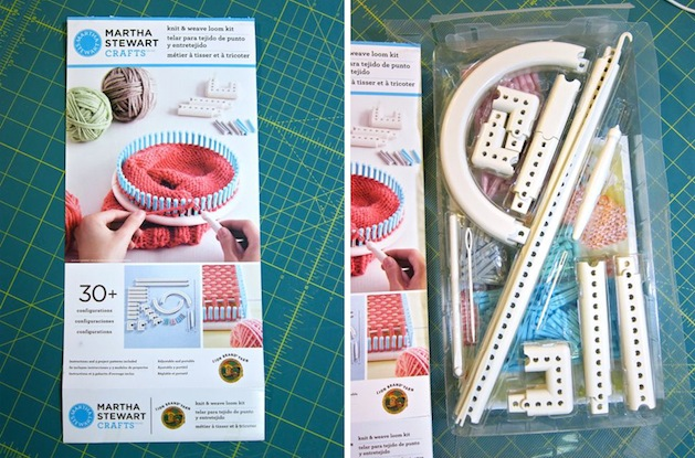 Tool Review: Martha Stewart Crafts and Lion Brand Yarn Knit & Weave Loom ...