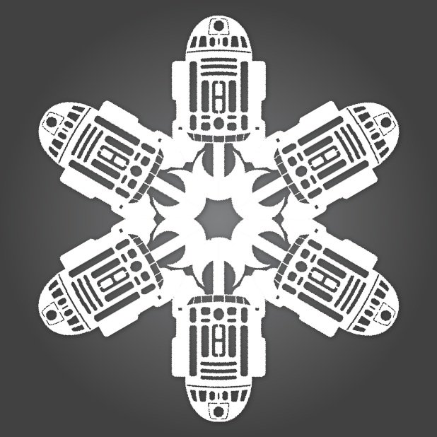 How to star wars paper snowflakes make pronofoot35fo Image collections