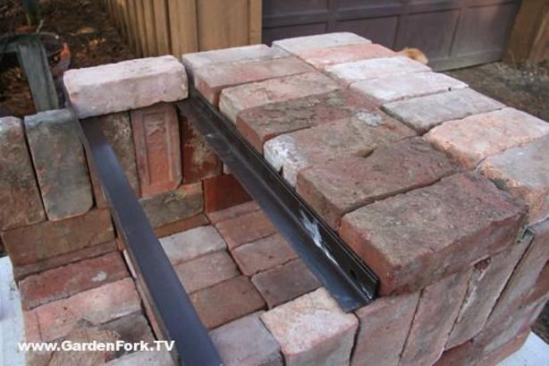Clay Brick Pizza Ovens : Knock down pizza oven from bricks scrap iron make