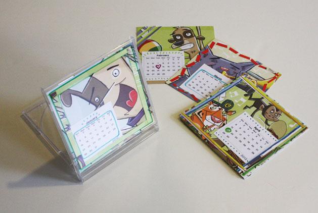 Diy Calendar Cd Case : Project cd jewel case calendar make