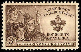 Stamp Us 1950 3C Boy Scouts Of America