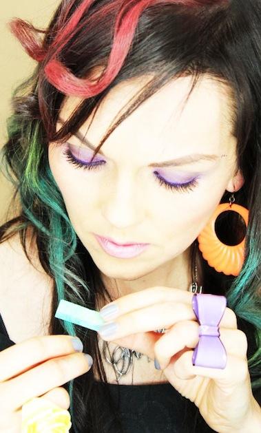 Hair Color Chalk Ombre Color Kandee Johnson Jpg