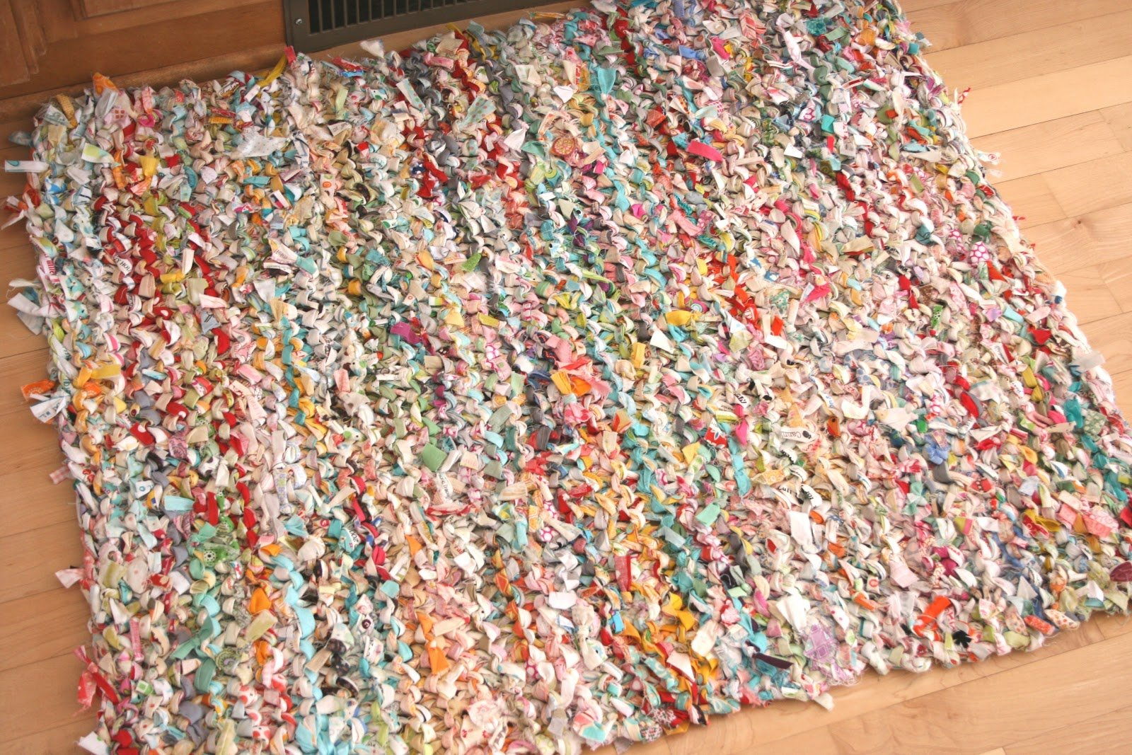 How To Knit A Rag Rug Make