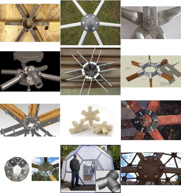 Geodesic Dome Hub Connector Index Make