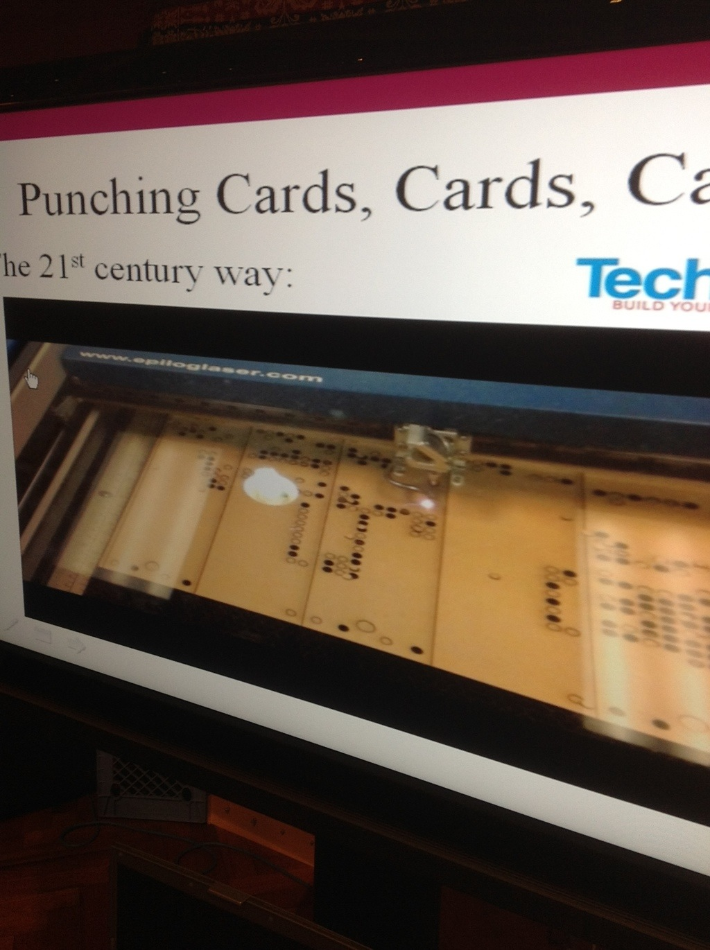 Laser Cut Punch Cards For Jacquard Looms Make